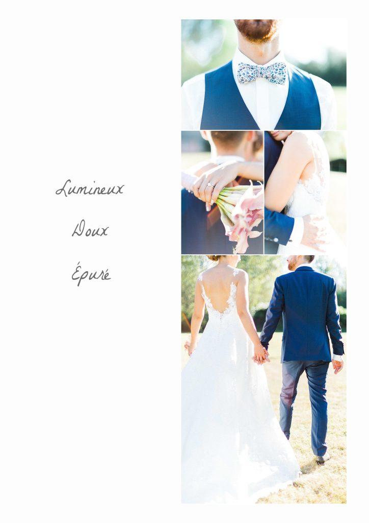 photographe mariage épuré lumineux fine art